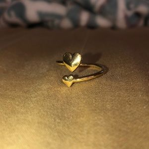 Alex & Ani Heart Ring